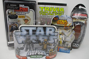 Collectables: Star Wars Toys Lot